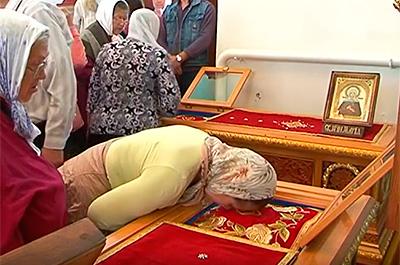 Празднование памяти святых мучениц Евдокии, Дарии, Дарии, Марии