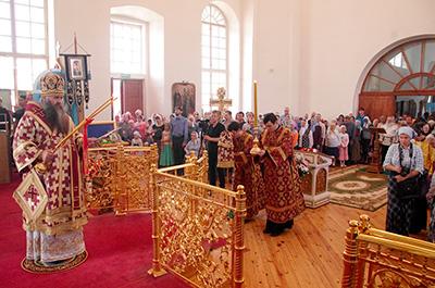 Архиерейское богослужение 18 августа 2016